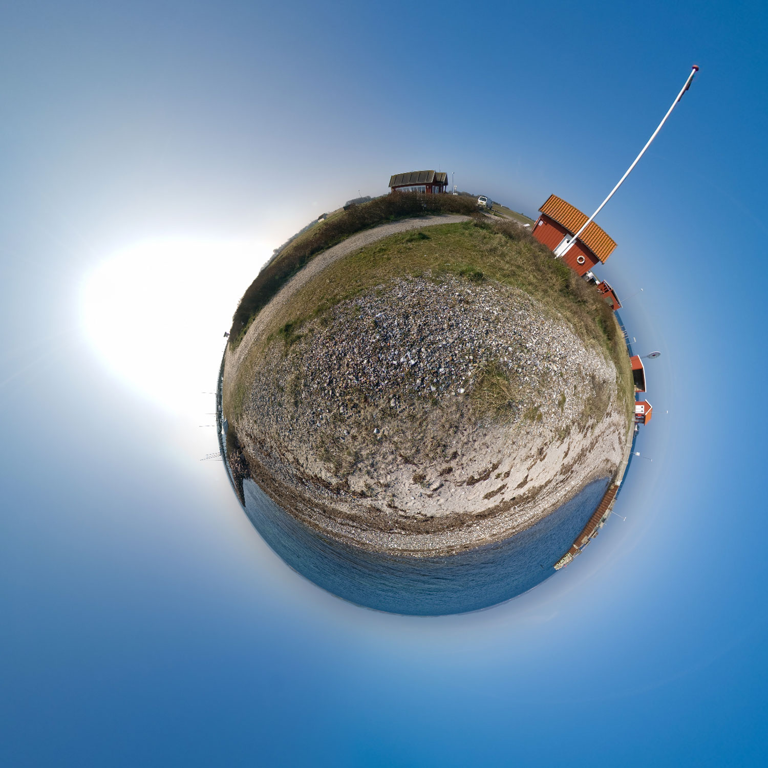 Panorama 014 - Little Planet
