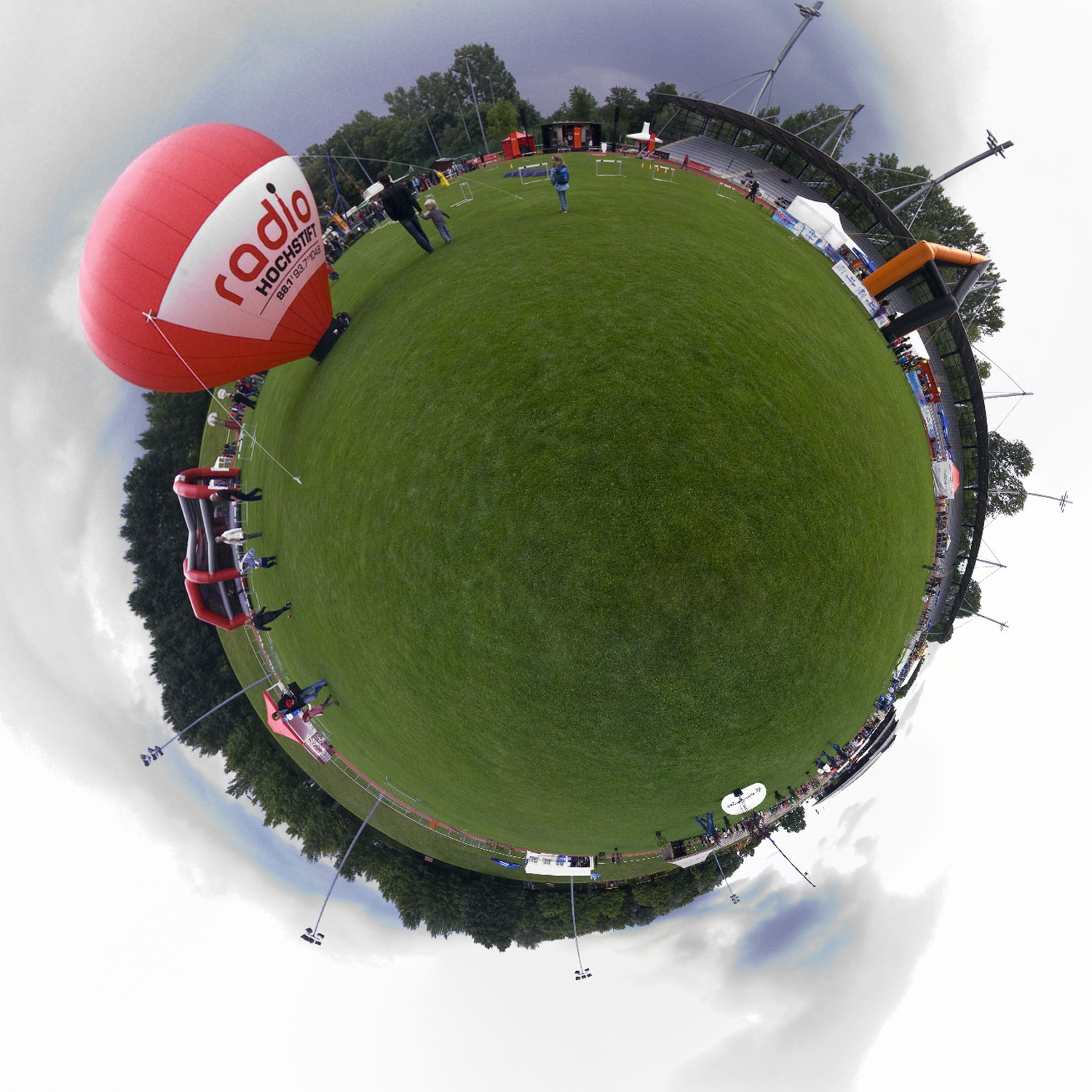 Panorama 047 - Little Planet