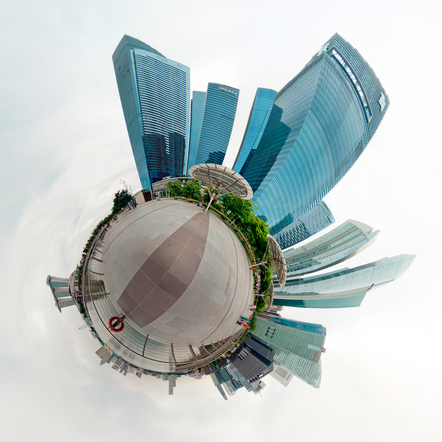 Panorama 133 - Little Planet