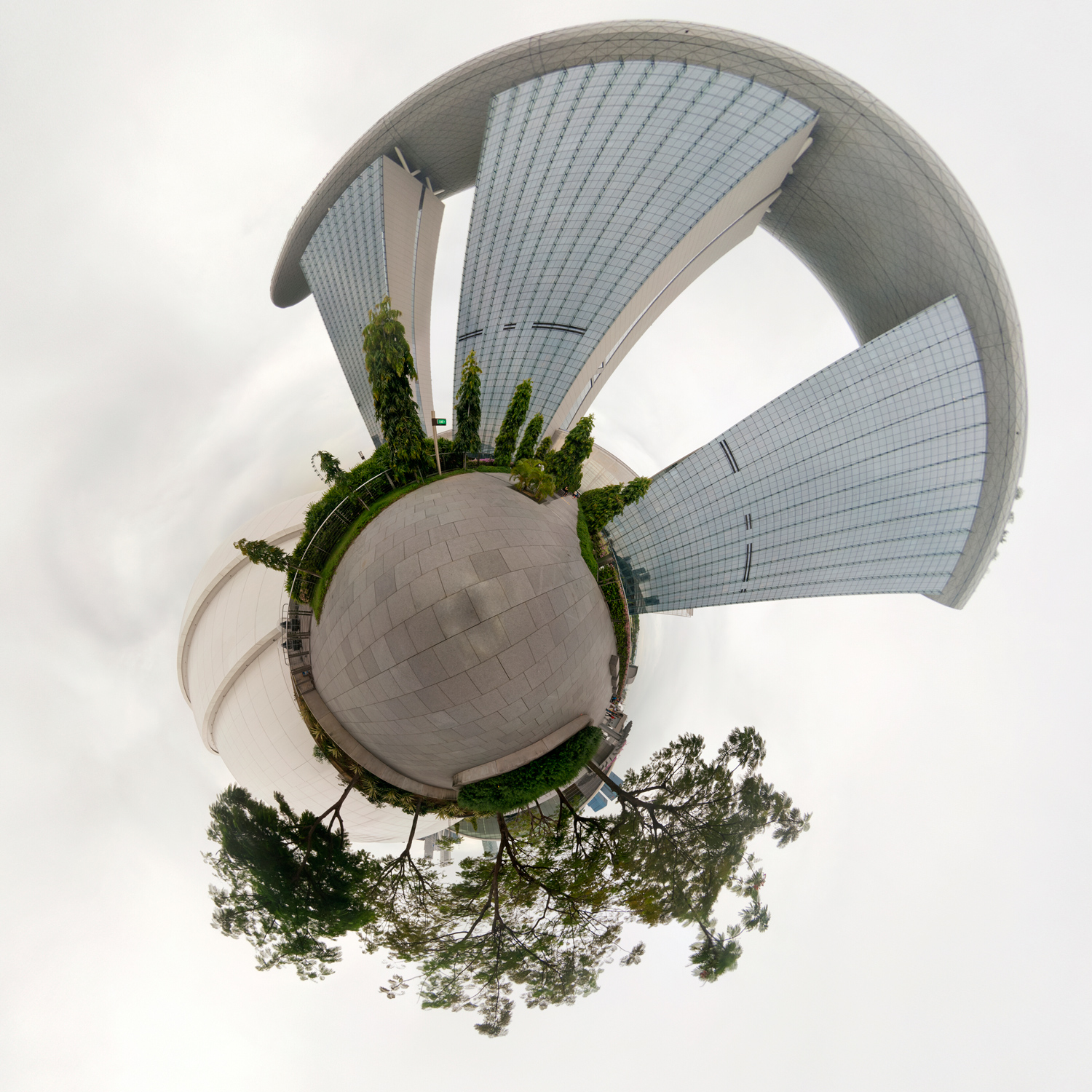 Panorama 134 - Little Planet