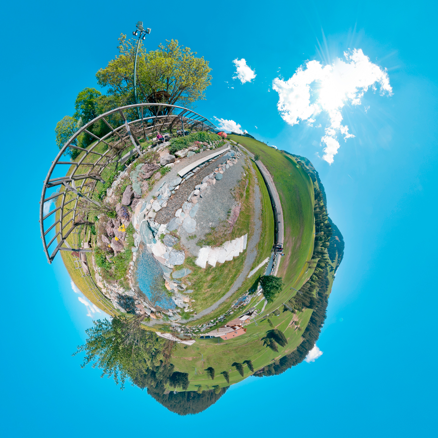 Panorama 142 - Little Planet