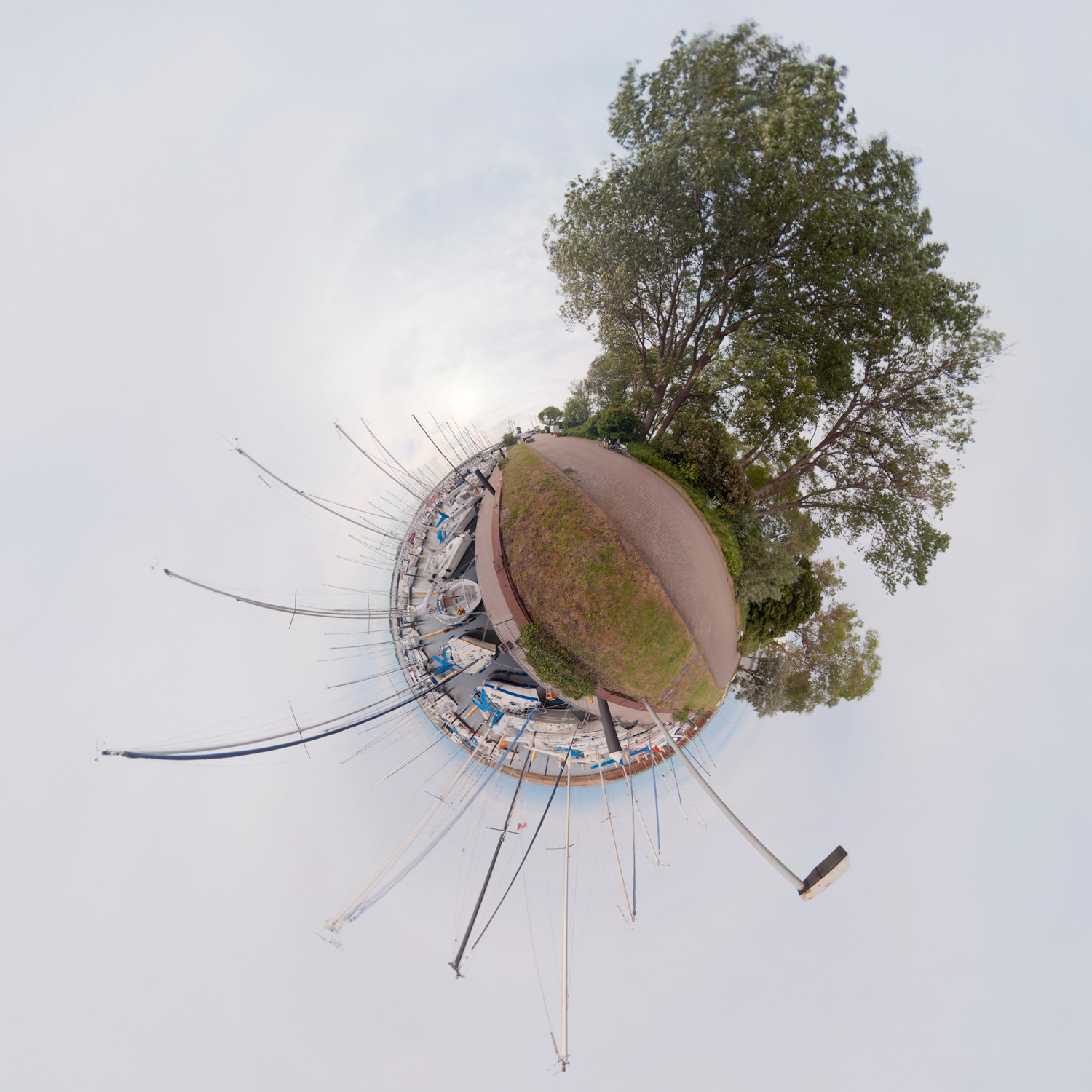 Panorama 145 - Little Planet