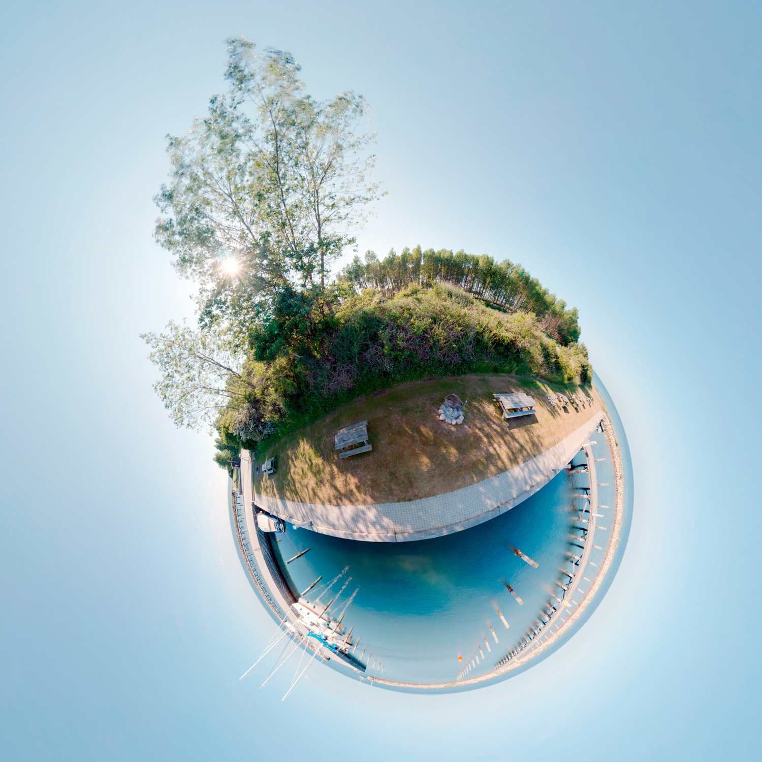 Panorama 152 - Little Planet
