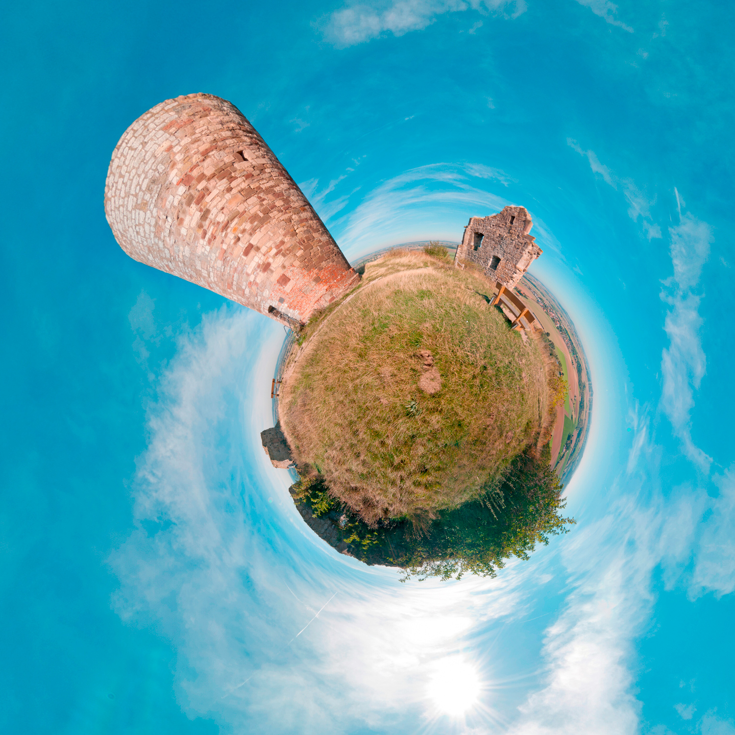 Panorama 179 - Little Planet
