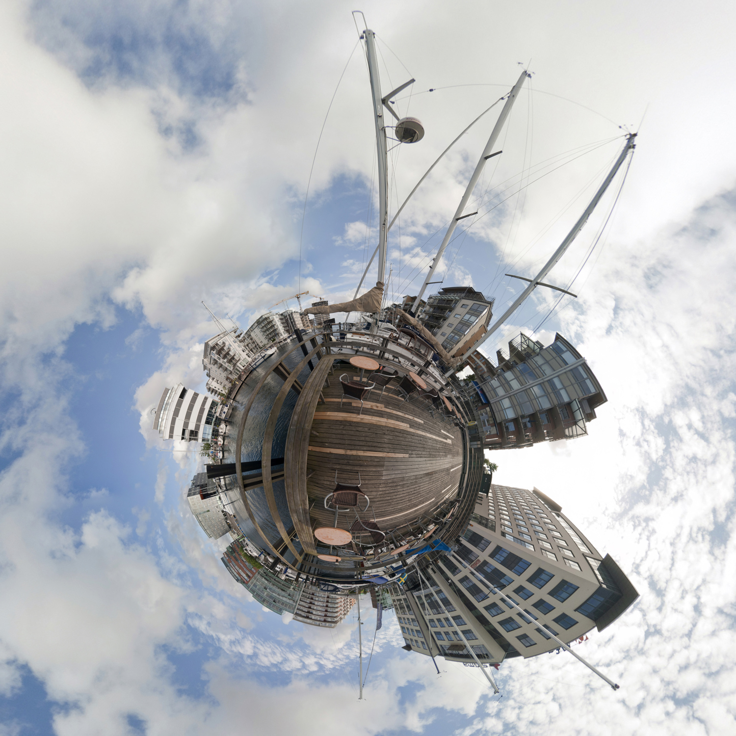 Panorama 196 - Little Planet