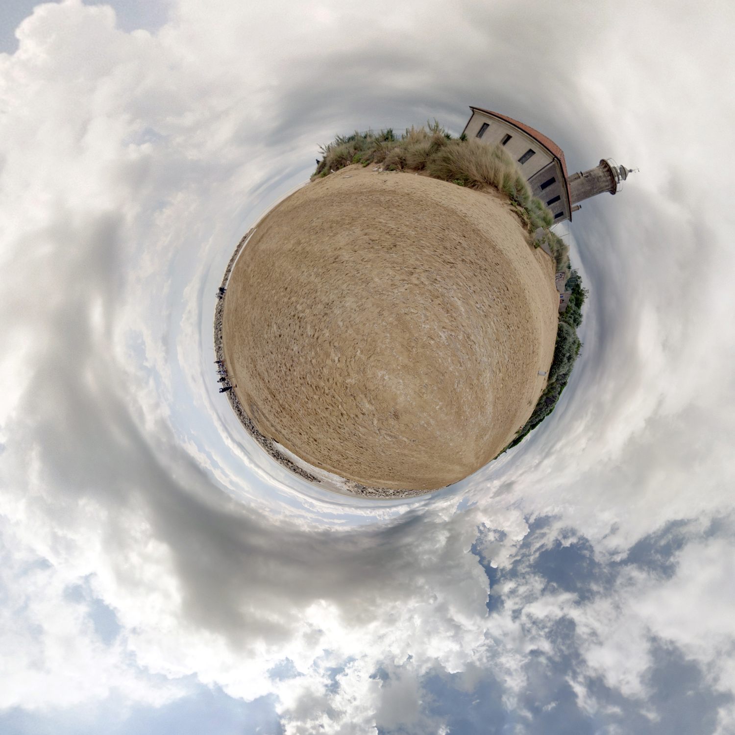 Panorama 208 - Little Planet