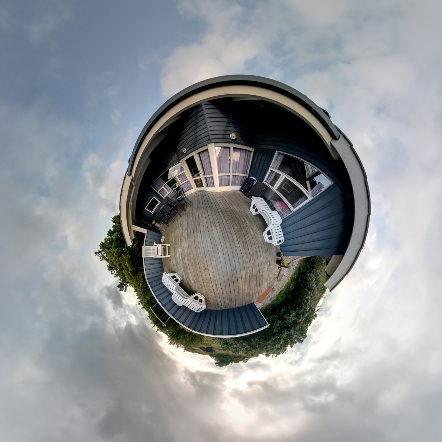 Panorama 212 - Little Planet