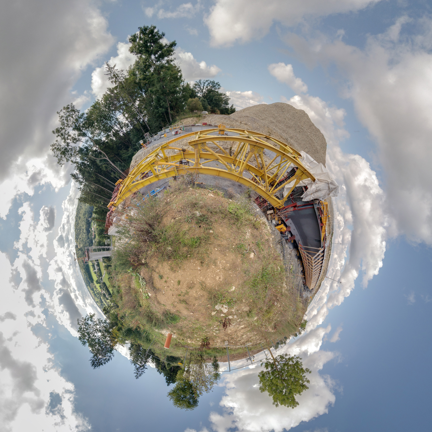 Panorama 221 - Little Planet