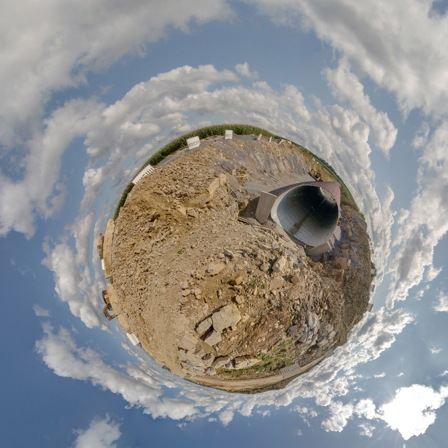 Panorama 222 - Little Planet